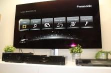 Panasonic DP-UB9000 : menu d'accueil