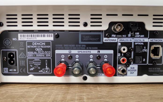 Test Denon RCD-N10