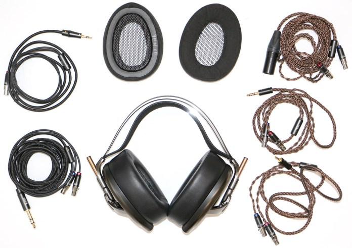 Meze Empyrean : nombreux câbles en option