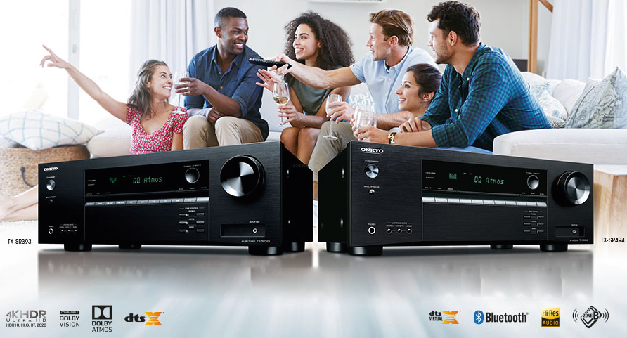 New 2019 Onkyo A/V receivers compatible with Dolby Atmos and