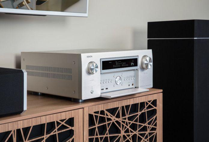L'ampli home-cinéma Denon AVC-X8500H est certifié Hi-Res Audio .et compatible Dolby Atmos.