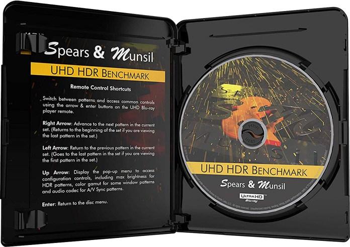 Blu-ray 4K Spears & Munsil UHD HDR Benchmark