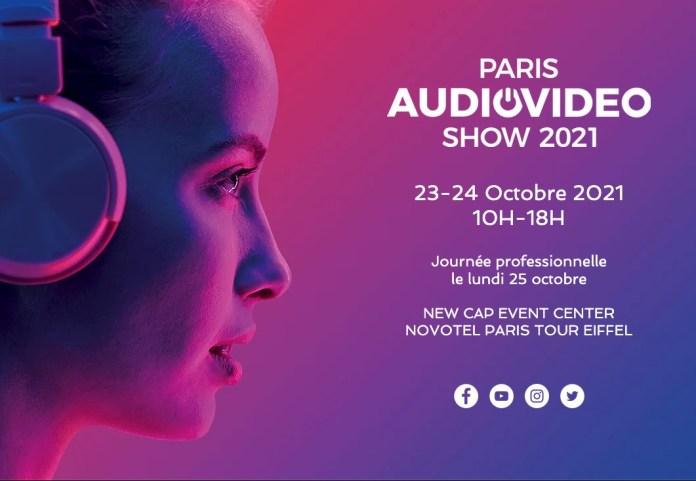 Rendez-vous au Paris Audio Vidéo Show 2021 les 23 et 24 octobre