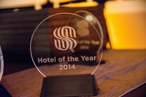 Hotel of the year award itself