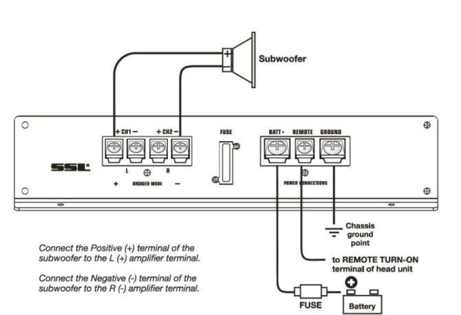 bridged amp diagram  download wiring diagrams •