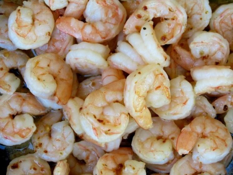 Shrimp with Sonoran Spice Habanero Flakes