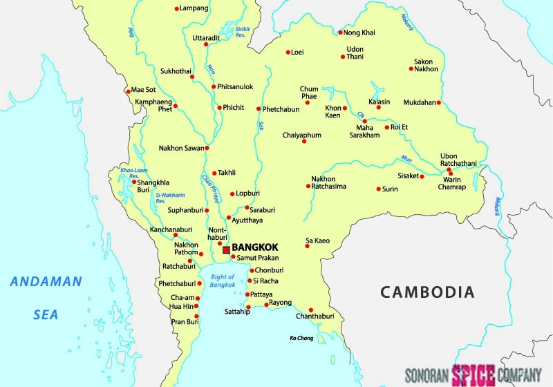 Map of Si Racha, Thailand