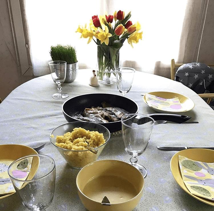 イースター 食卓