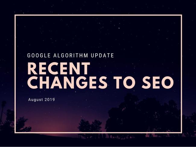Google Algorithm Update Recent Changes to SEO