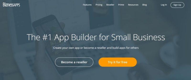 BiznessApps Homepage