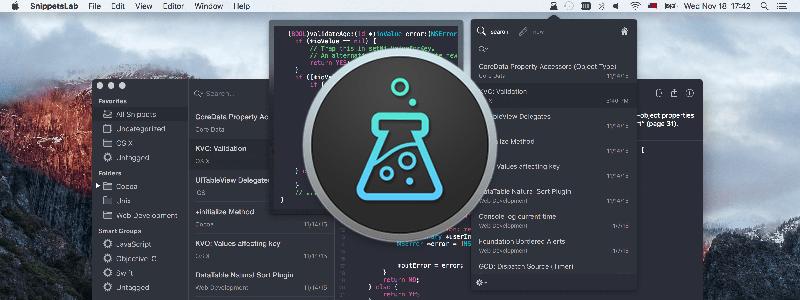 コードスニペット管理はSnippetsLabでいくわ