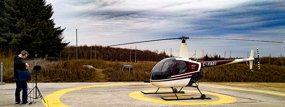 Kevin @ National Helicopters