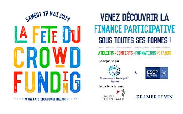 La Fête du Crowdfunding le 17 Mai 2014