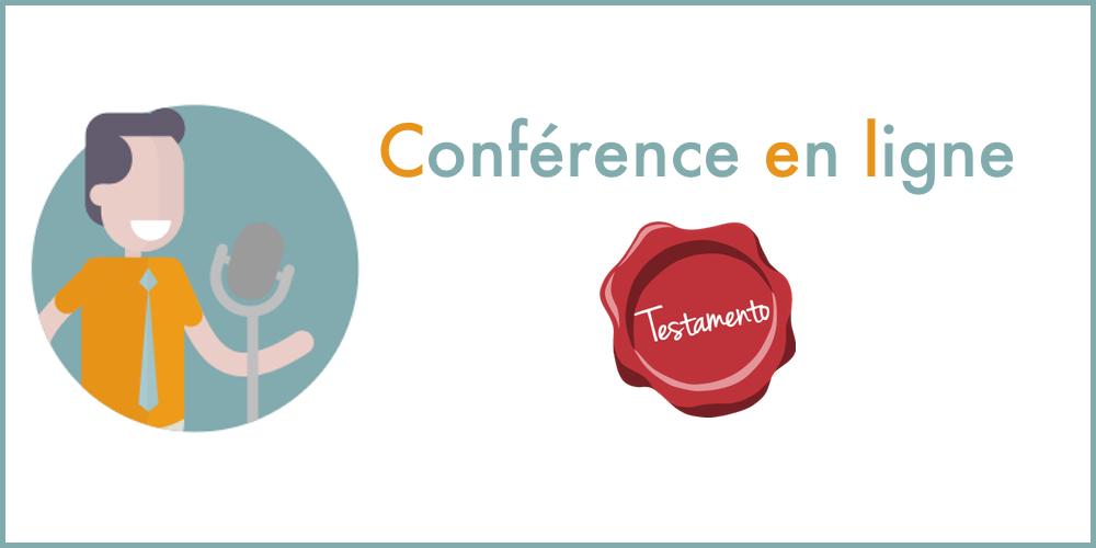 Testamento : Conférence en ligne par Sowefund
