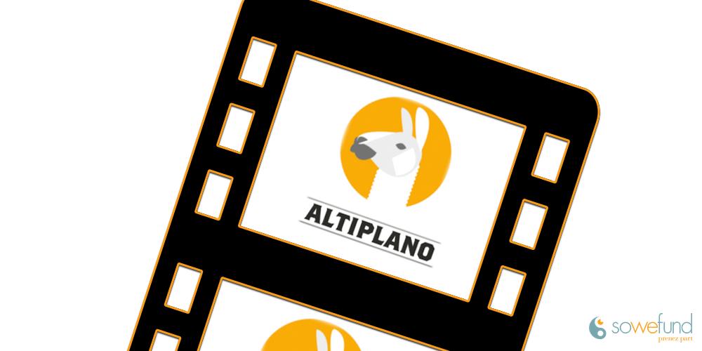 Vidéo de présentation de la start-up Altiplano