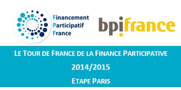 Georges Viglietti au Tour de France de la Finance Participative