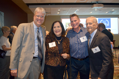 50 years of Clearwater Campus Associate Provosts: Matt Bowen, Dr.Kathleen Griffin, Jeffrey Davis and Dr. Dave Walthall.