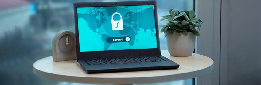 Security Computer Screen