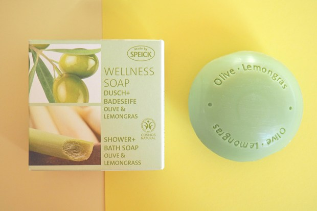 Wellness Soap Olive Lemongras made by Speick Ida Koenig fuer Speick