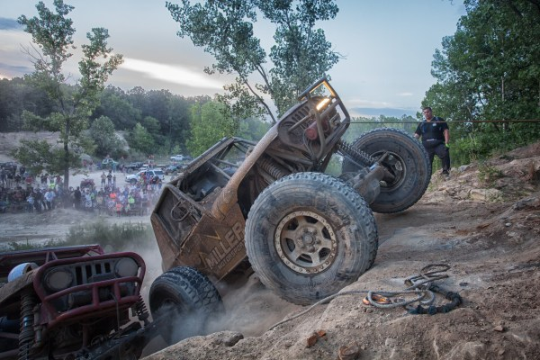 Sometimes, winching is faster.