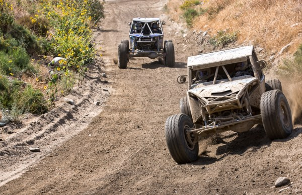 An Old Fashion Game of Chase -- 2014 4 Wheel Parts Glen Helen Gr