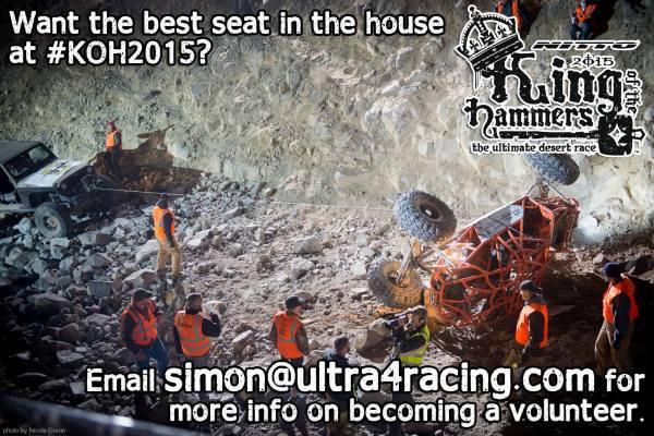 KOH Volunteers Needed!