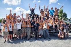 Volunteers Rock -- 2015 King of Italy