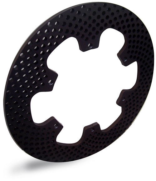 Spidertrax Cross Drilled Rotor