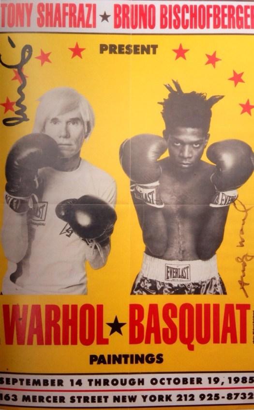 Warhol vs. Basquiat - The Fight