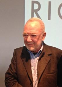 Der Meister persönlich anlässlich der Pressekonferenz in Rhien