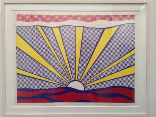 Surise, 1965 von Roy Lichtenstein bei Klimczak für 14.500 EUR in erstaunlicher Farbfrische