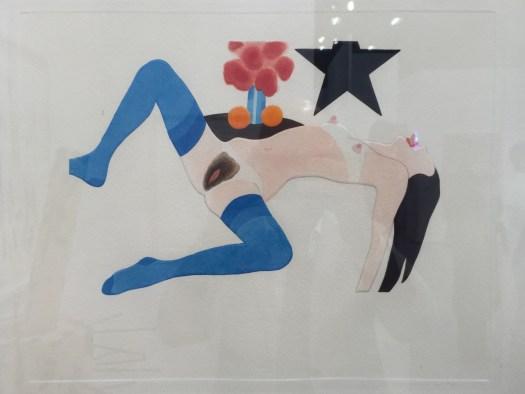 'Sex Sells' muss das Motto der Preisfindung bei diesem kleinen Dirty-Piece von Pop-Altmeister Tom Wesselmann gewesen sein. 90 TEUR für eine kleine aquarellierte und somit unikatäre 15er Auflage ist sportlich.