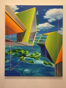 Da ist er: Der neue malerische Werkkomplex der Südkoreanerin SEO.
