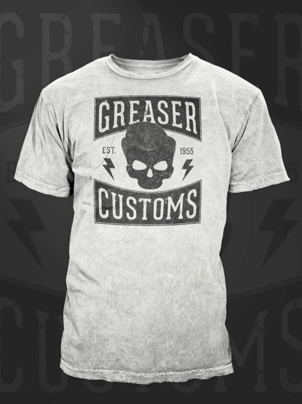 Greaser T-Shirt design