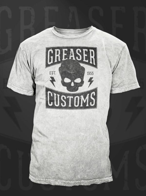 Greaser T-Shirt design