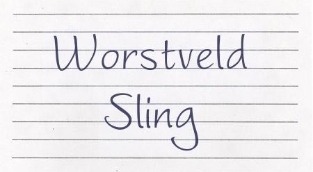 Worstveld Sling font