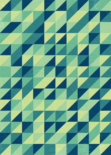 Retro Triangular Pattern