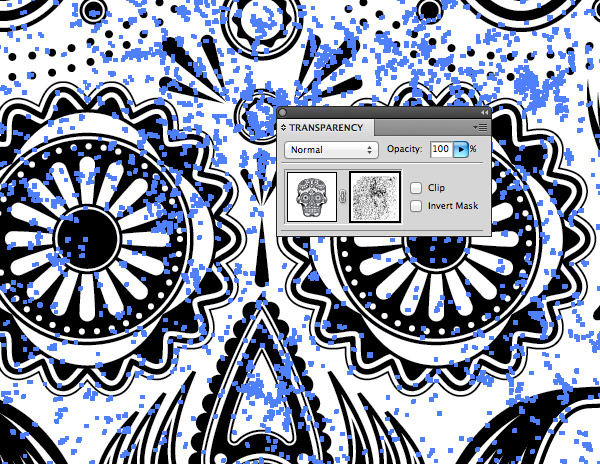 Illustrator Opacity Mask