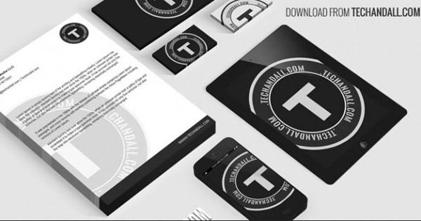 Full Branding Identity Mockup