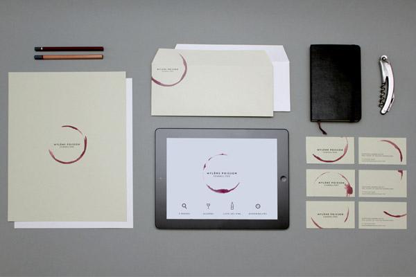 MYLÈNE POISSON SOMMELIÈRE Branding by Caserne