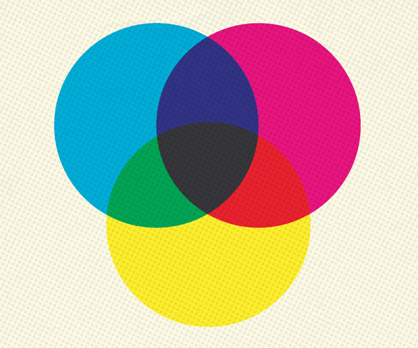 Overprint colours