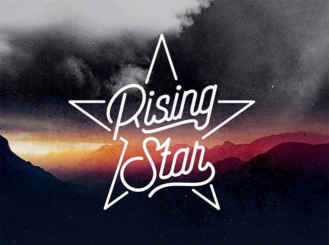 Rising Star Monoline de secuencias de comandos