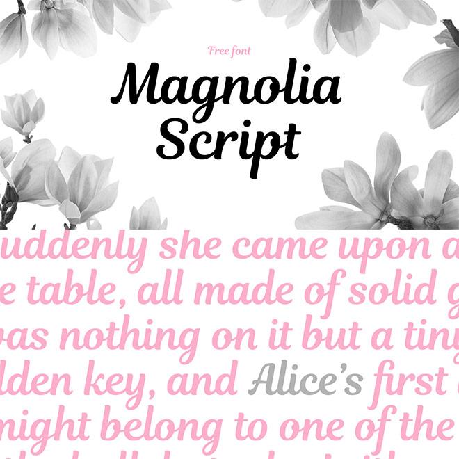Magnolia de secuencias de comandos