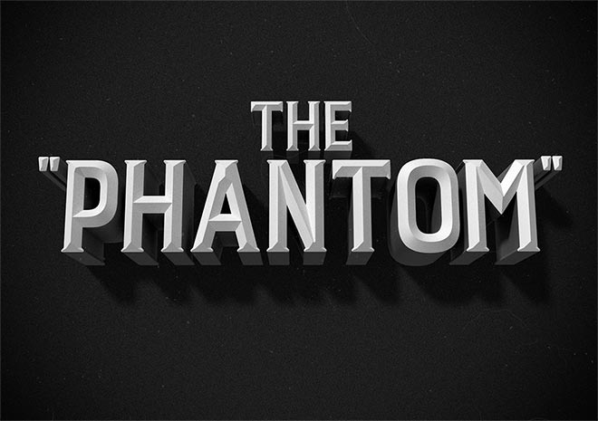 How To Create a Vintage Film Title Text Effect in Photoshop