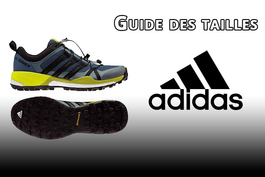Tailles Adidas 6