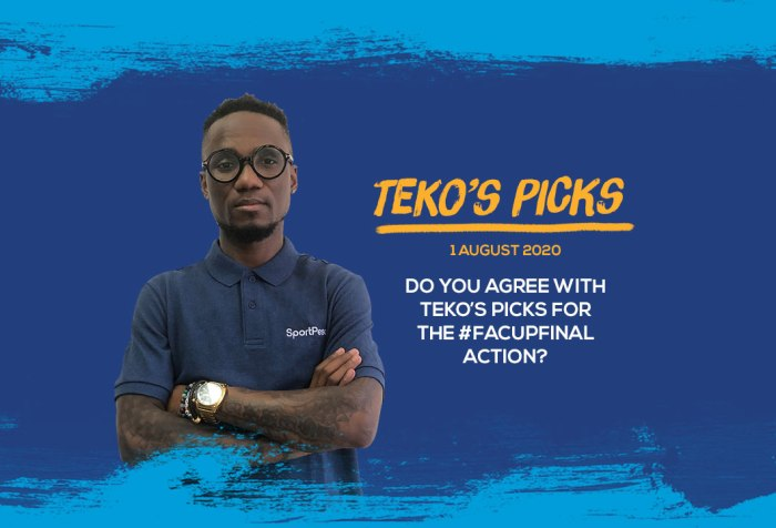 Teko Modise's Picks for the FA Cup Final
