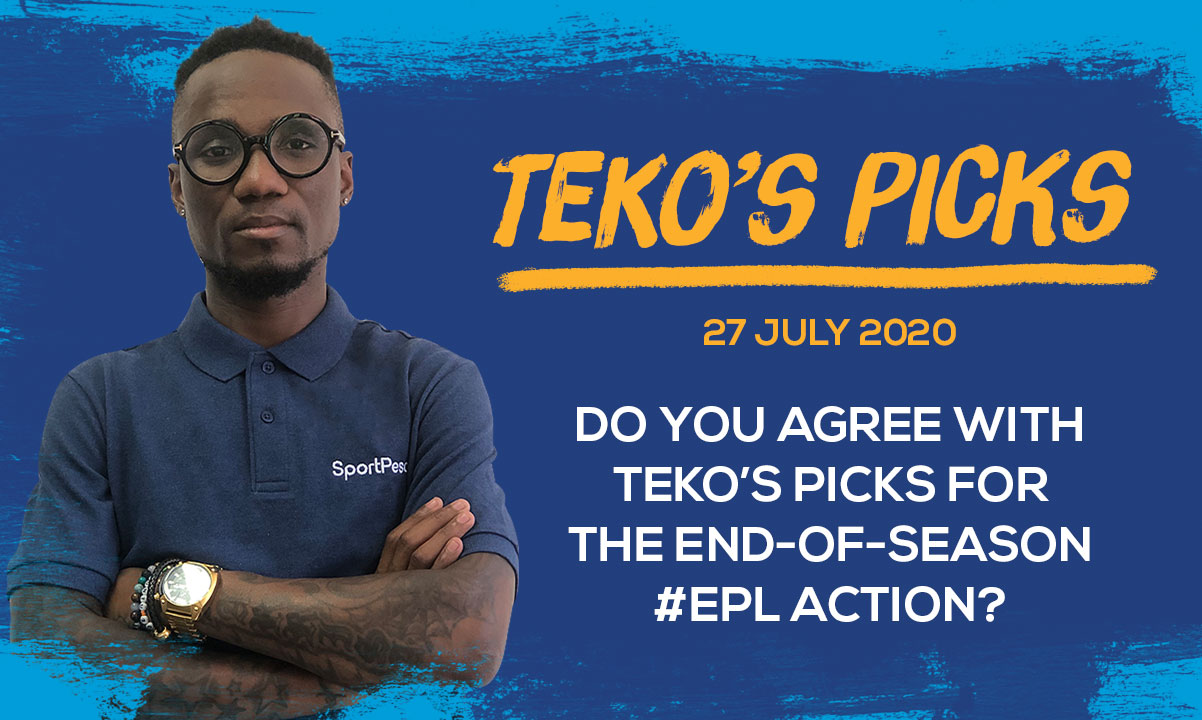 Teko Modise's picks for EPL end-of-season action