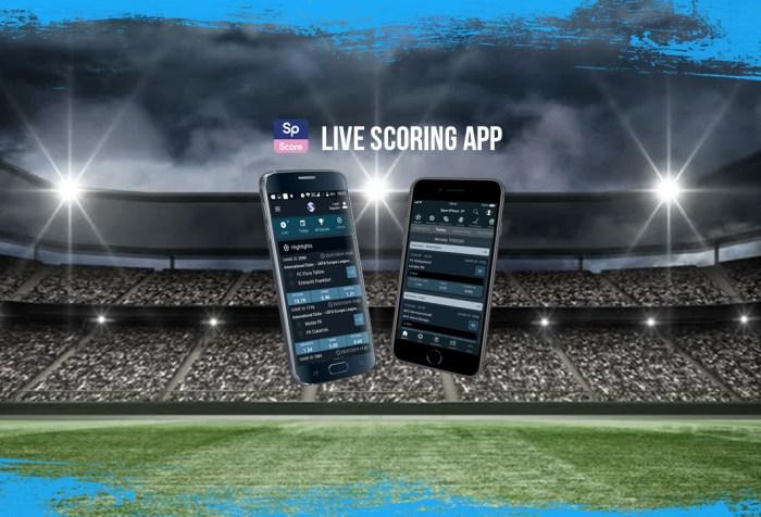 SP Score App