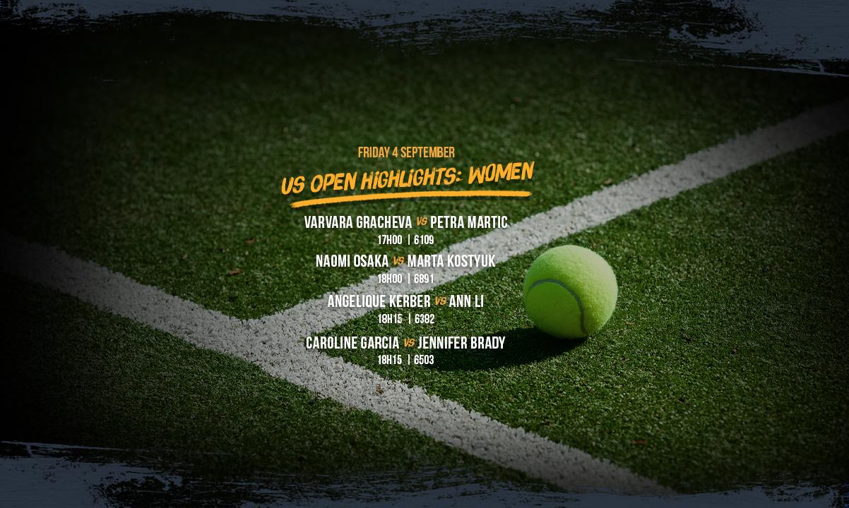 US Open Women's