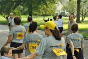 Walking for Livestrong